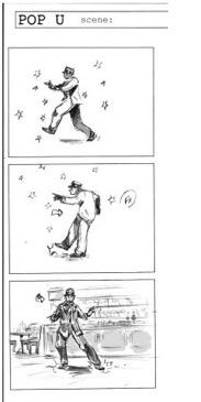 Storyboard clip